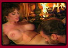 Cunnilingus, pussy licking, muff diving - by the fire!